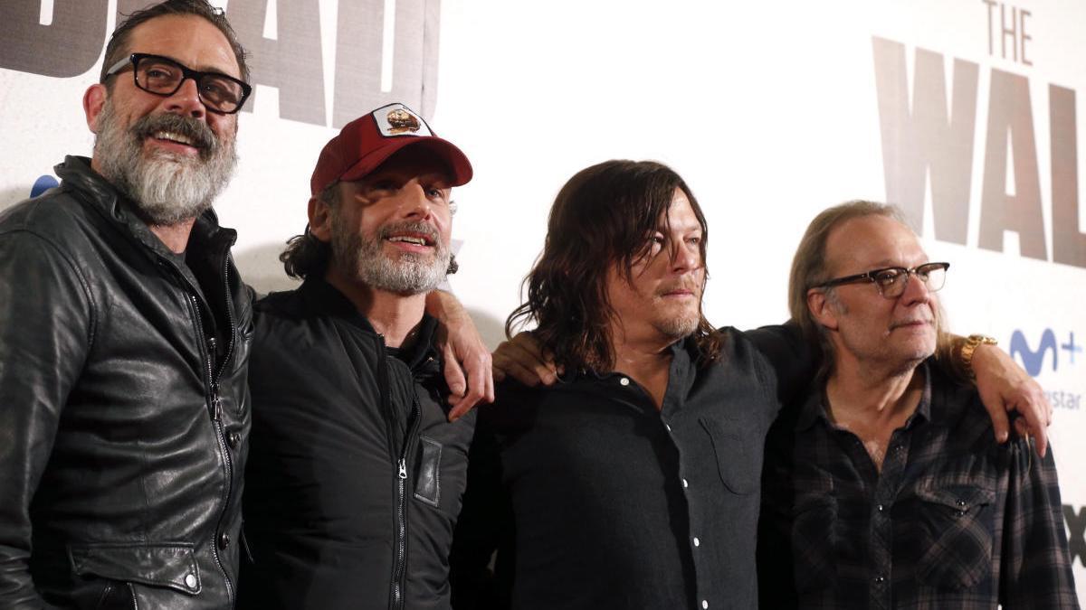 Los actores protagonistas de 'The Walking Dead'