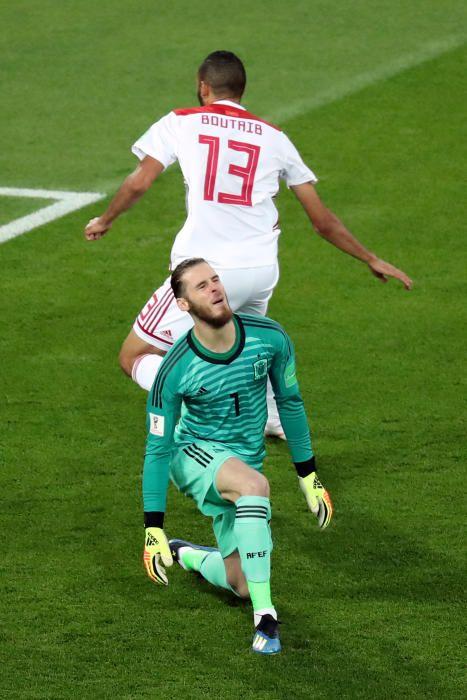 Mundial de Rusia: España-Marruecos