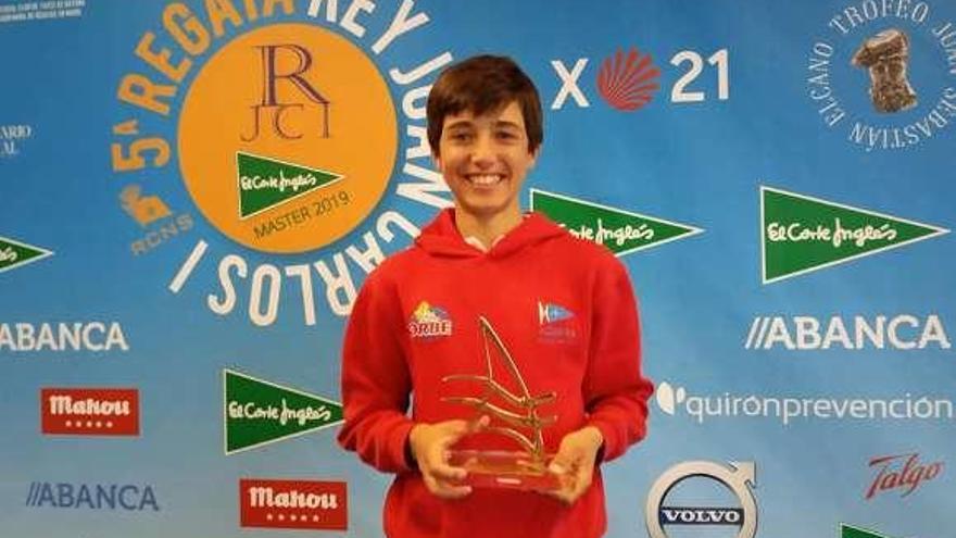 Pablo Trillo, del Náutico Rodeira, se lleva la victoria en categoría absoluta