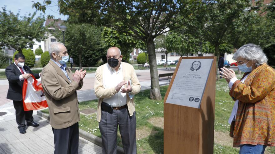 El Natahoyo honra la memoria de la Hermana Covadonga
