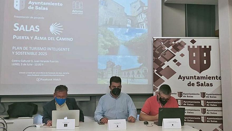 """""""Salas, puerta y alma del Camino"""", lema de la estrategia turística del municipio"""