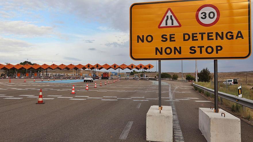Aragón se opone al cobro en las autovías que prepara el Gobierno