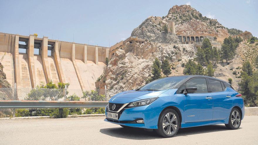 Nissan Leaf, ruta eléctrica