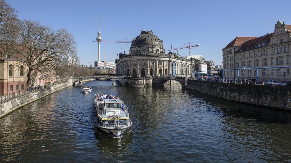 Una imagen de la ciudad de Berlín.
