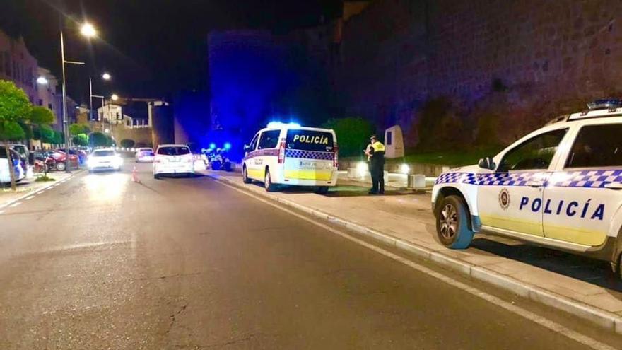 Tres conductores detenidos en Plasencia por dar positivo en alcohol