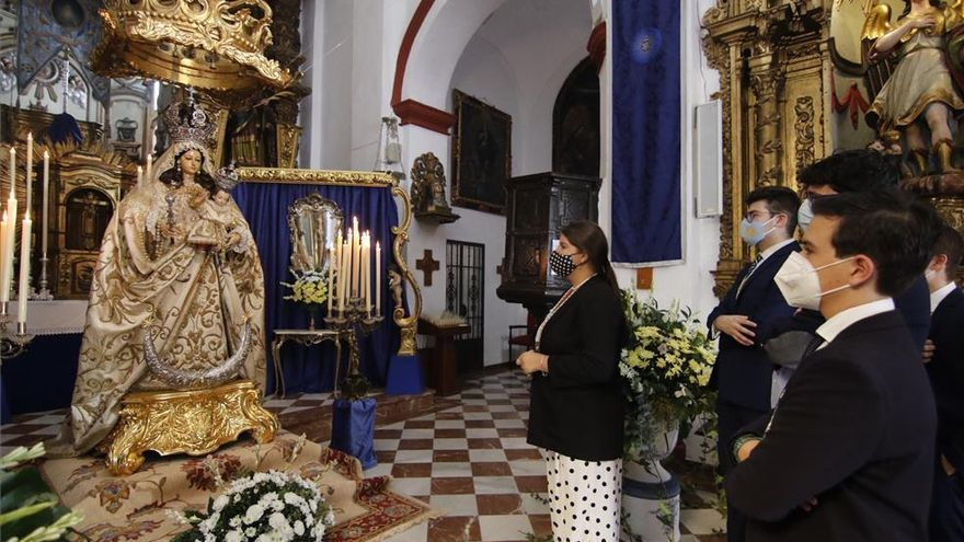 La Virgen del Socorro será expuesta durante todo el domingo en su ermita