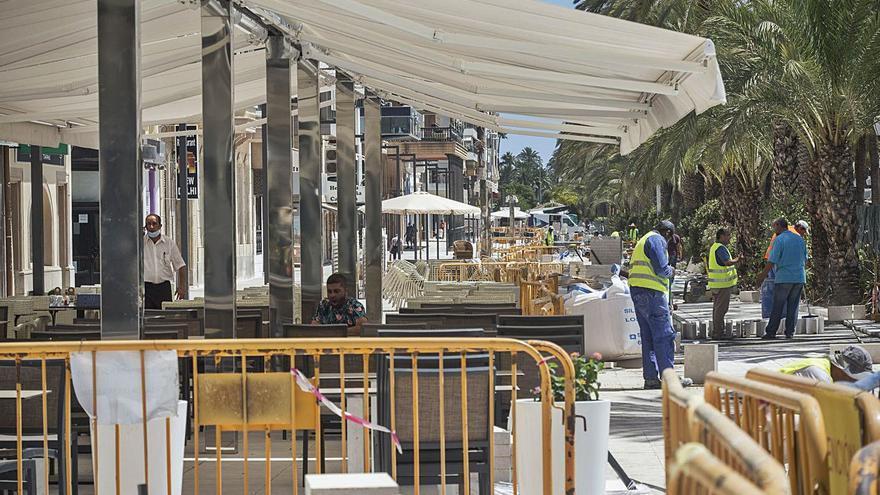 Urbanismo asegura ahora que las obras de la Explanada acabarán a finales de mes