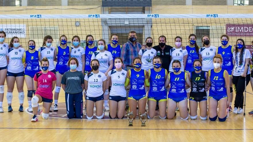 El Academia Voleibol Córdoba derrota al Adecor en el Torneo Delegación juvenil