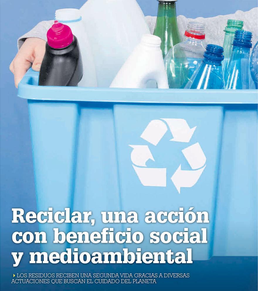 Reciclar, una acción con beneficio social y medioambiental