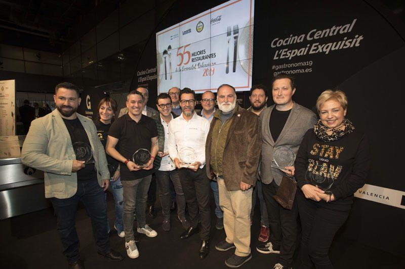 Presentación de la gastroguía '55 mejores restaurantes de la Comunitat Valenciana'