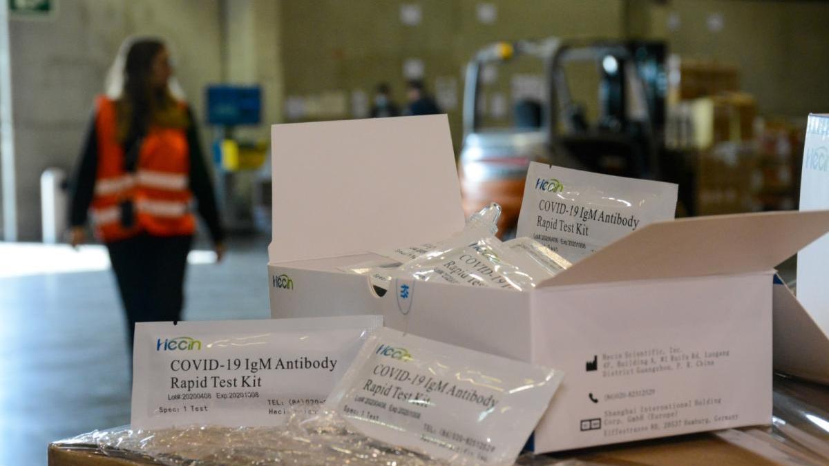 El Consell quiere crear almacenes de material sanitario para futuras crisis