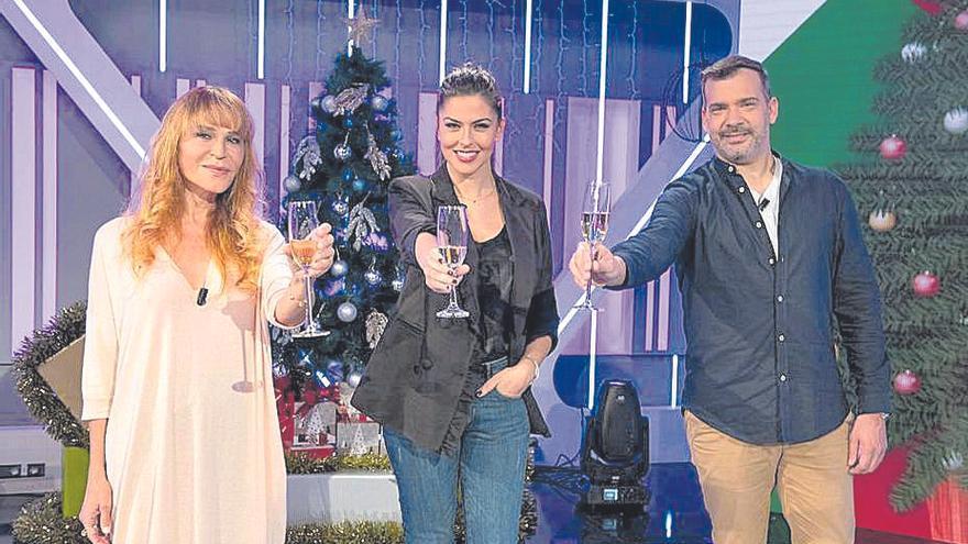 Eloísa, Daniel Calero y Antonia San Juan darán las campanadas de RTVC