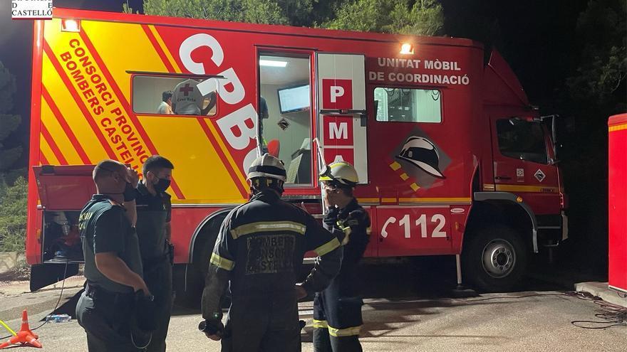 Cuatro personas perdidas en una tarde-noche accidentada en Castellón