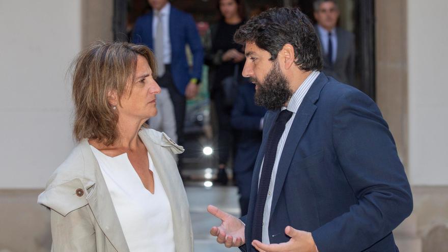Ribera se reunirá mañana con López Miras, Plataforma 'SOS Mar Menor' y alcaldes