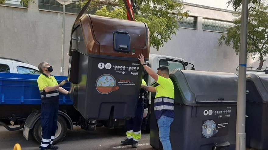 43 barrios de Palma ya disponen de contenedores de basura orgánica