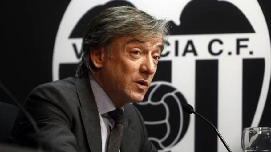 García Pitarch dimite como director deportivo del Valencia