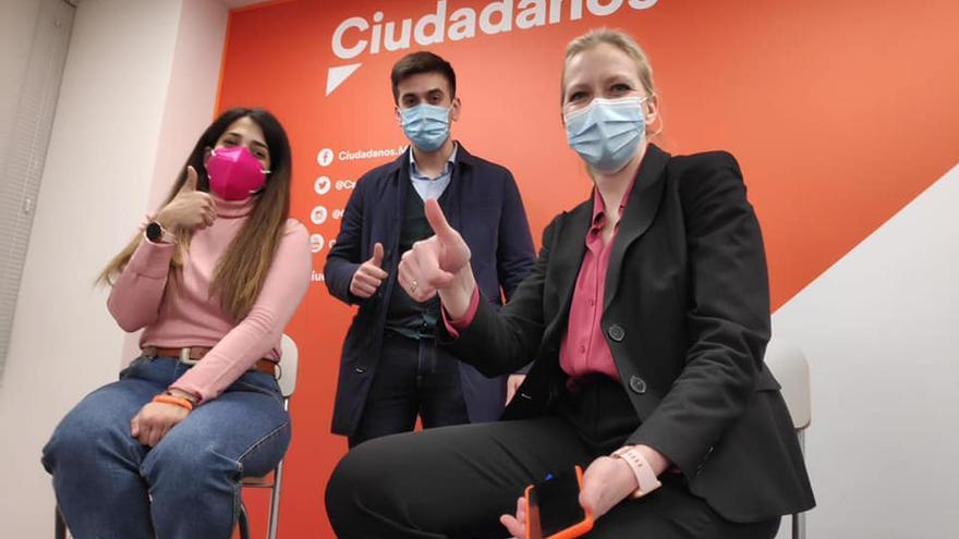 """La líder de Jóvenes de Cs se pasa al PP: """"Es la única alternativa para que España salga adelante"""""""