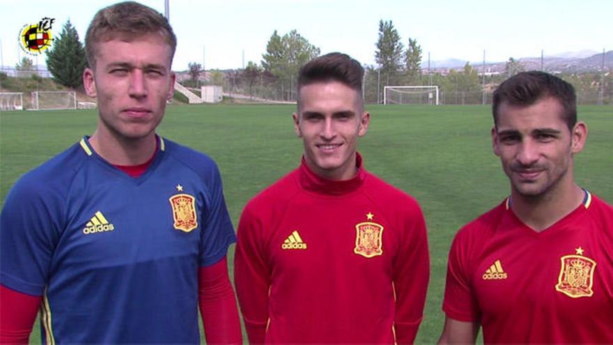 Rubén, Jonny y Denis Suárez quieren un Pasarón hasta la bandera