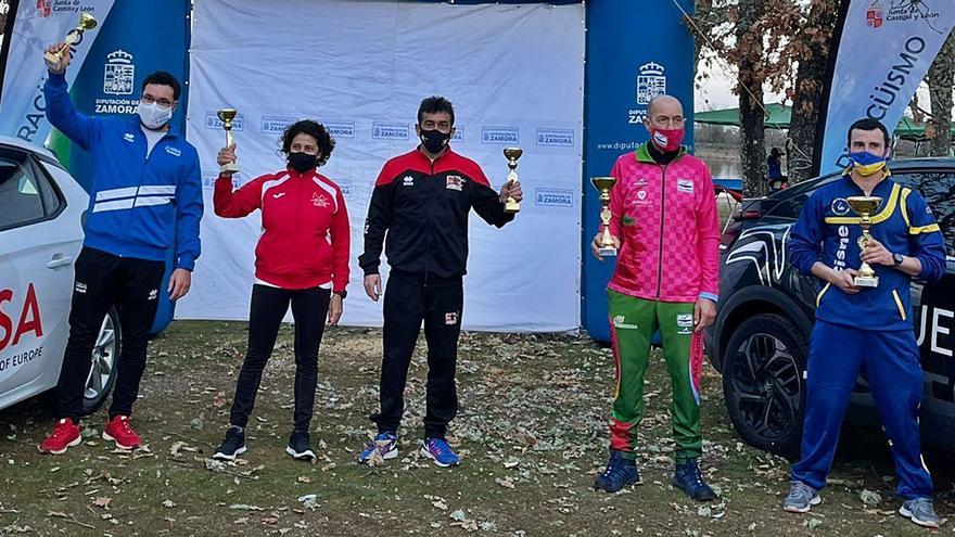 AD Zamora y Ciudad de Zamora vuelven al podio en el Regional de invierno de Villardeciervos