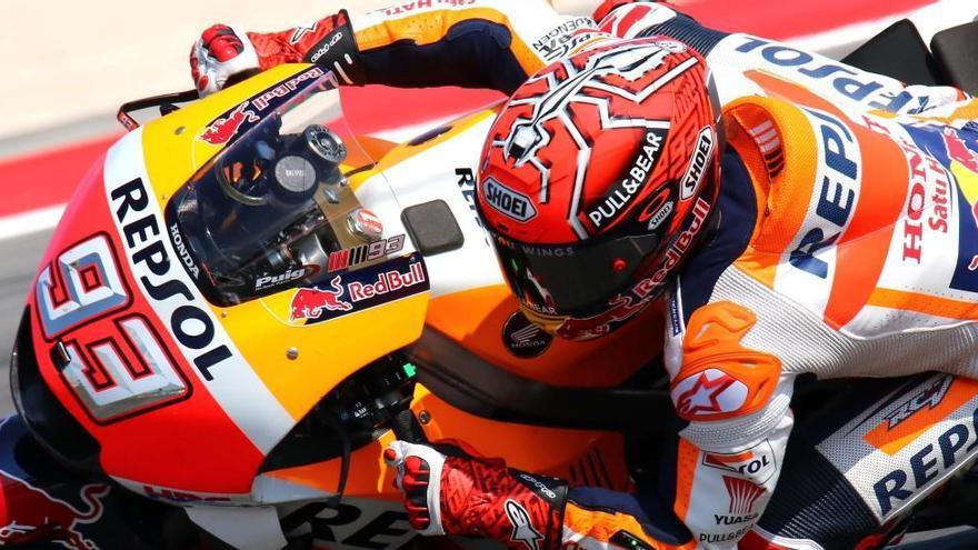 Un valent Marc Márquez recupera el liderat de MotoGP