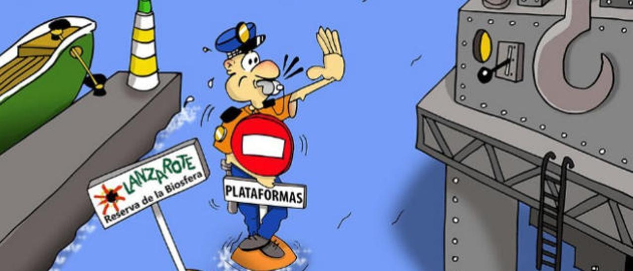 Lanzarote rechaza la propuesta de Ibarra de acoger a las plataformas