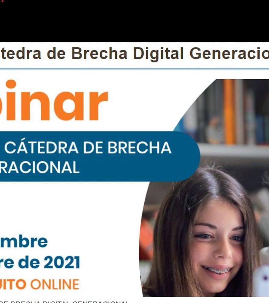 La brecha digital, a estudio en un encuentro organizado por la Universidad y la Conselleria de Innovación