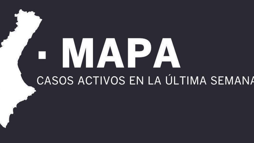 MAPA | Qué municipios han registrado contagios en la última semana