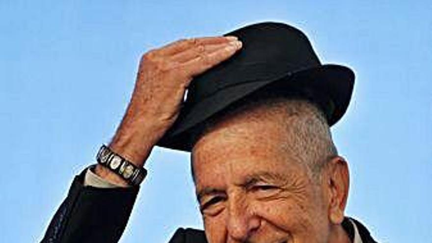 Sale a la venta el disco póstumo de Leonard Cohen con nueve canciones inéditas