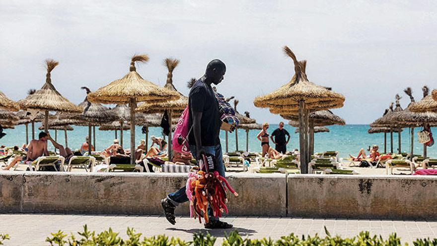 Die fliegenden Händler sind auf Mallorca nun wirklich gestrandet