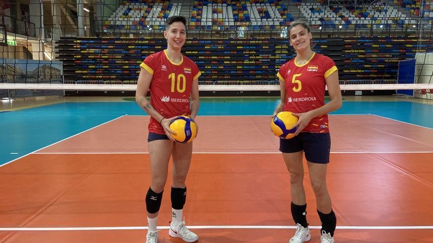 Alba e Inma, extremeñas en la élite más feliz