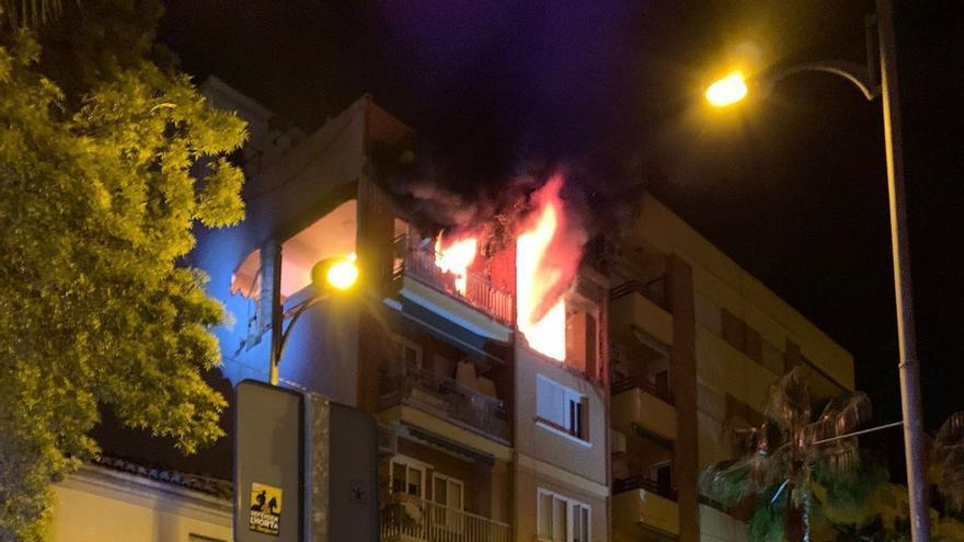 La explosión de gas de Burjassot se produjo al poner en marcha una lavadora