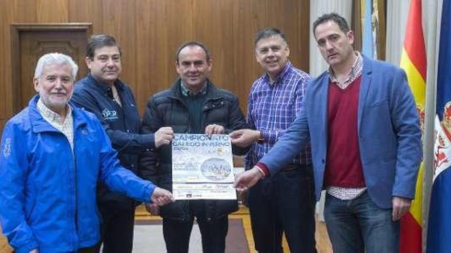 El campeonato gallego, en Coles, espera a 400 palistas