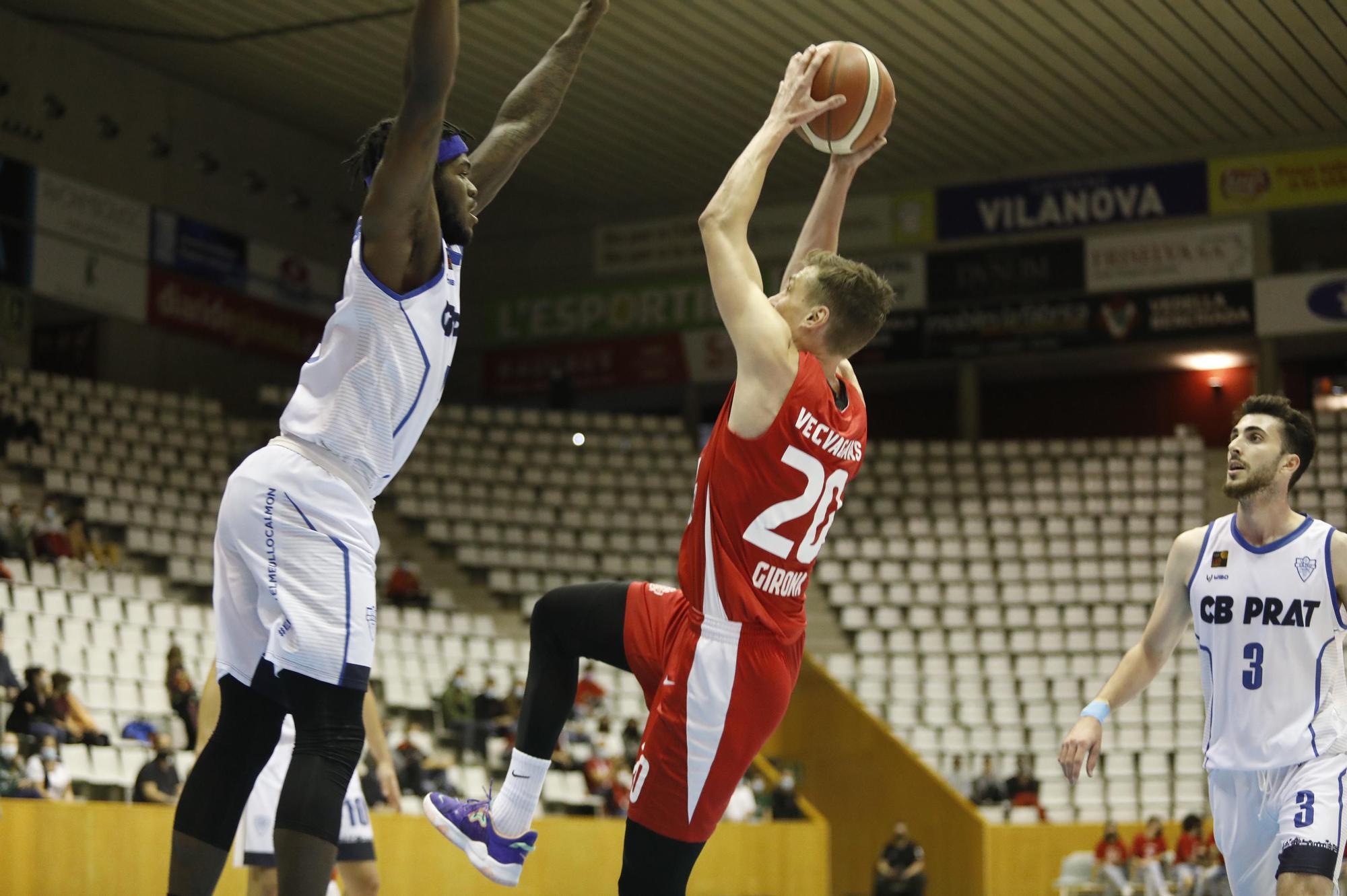 El Bàsquet Girona s'agrada i ja té la segona victòria (82-63)