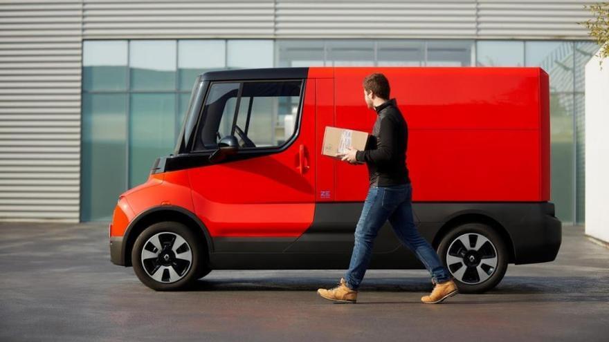Renault EZ-FLEX, el coche perfecto para las entregas en ciudad