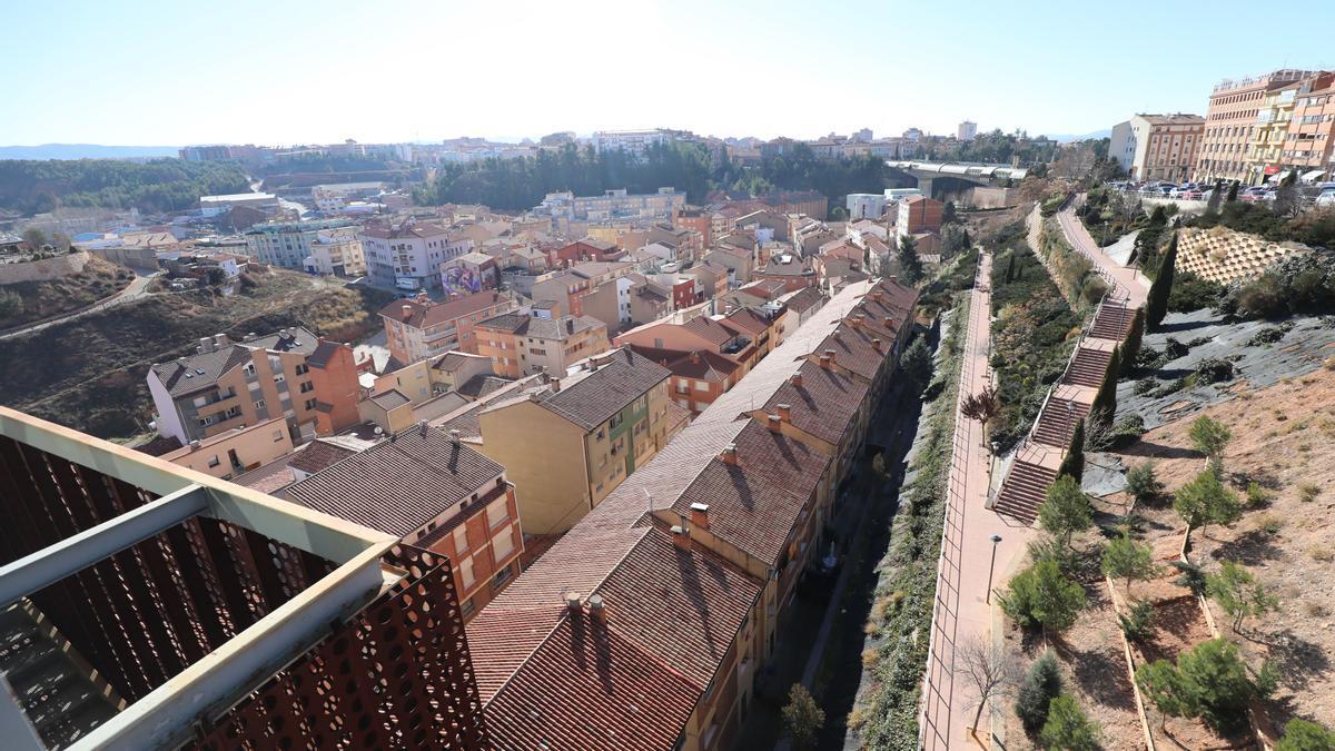 Vista general del barrio de San Julián, donde se va actuar.
