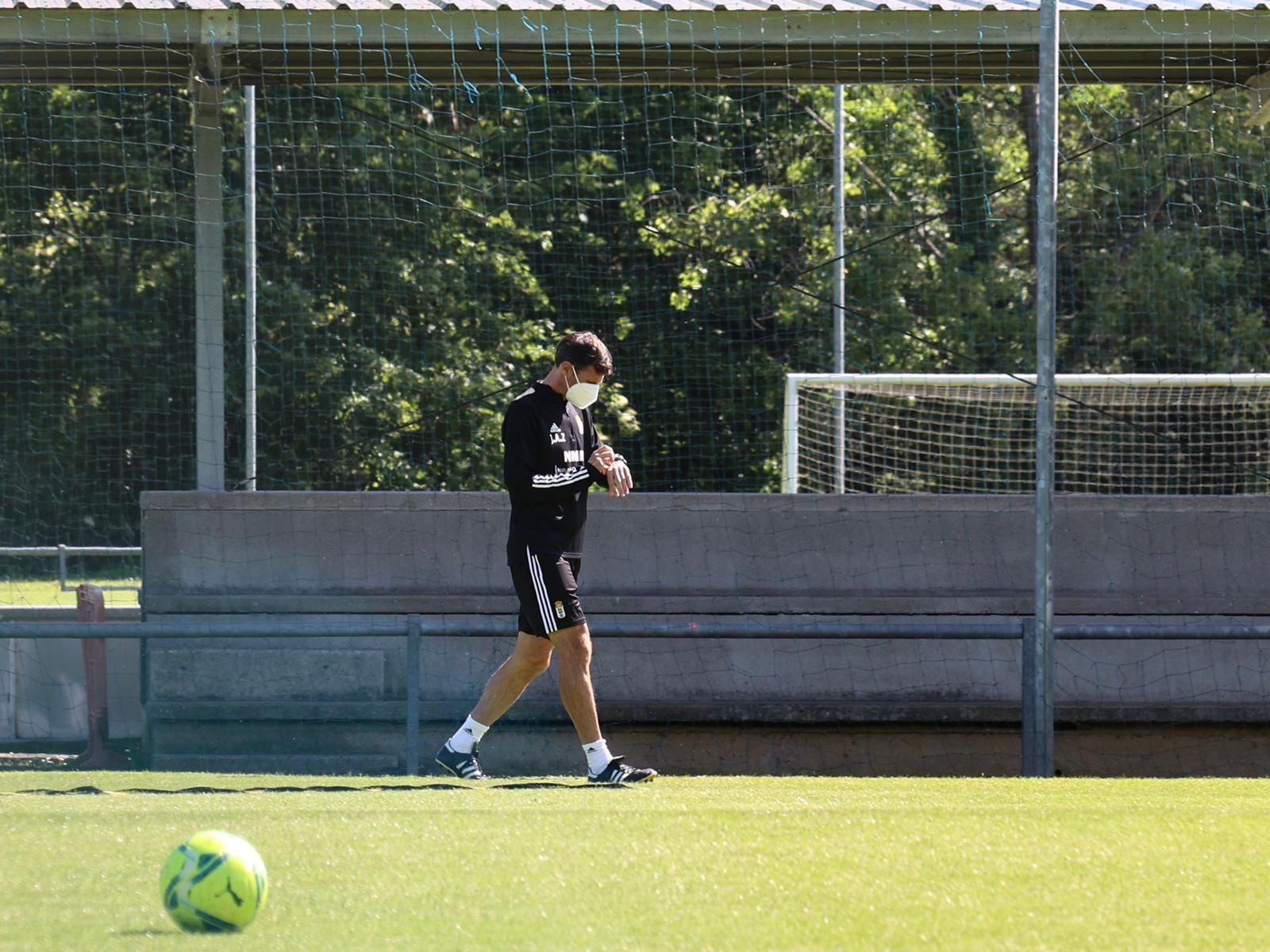 Así ha sido la vuelta al trabajo del Oviedo tras la muerte de Arnau