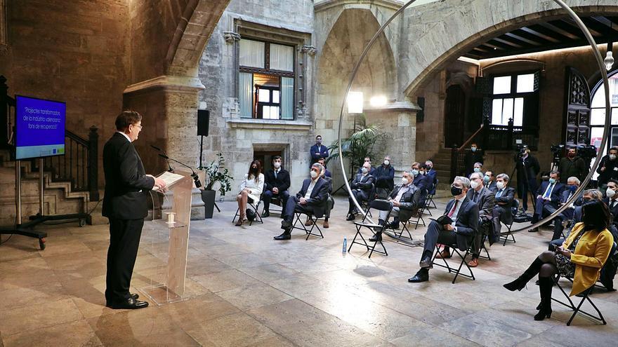 El Consell fía a los fondos europeos la reindustrialización y pide 5.500 millones