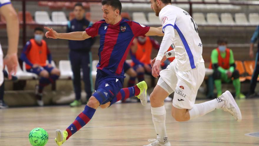 Partido de Copa del Rey de Fútbol sala entre el Levante ud fs y el Valdepeñas