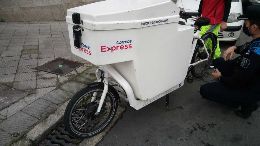Bicicleta trucada en Vigo: hasta 50 km/h sin dar ni una sola pedalada