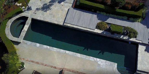 Los veraneantes han estado compartiendo las piscinas, algunas más obviamente que otras, con forma de pene.
