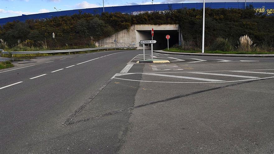 El Concello proyecta una rotonda para mejorar los accesos a As Rañas