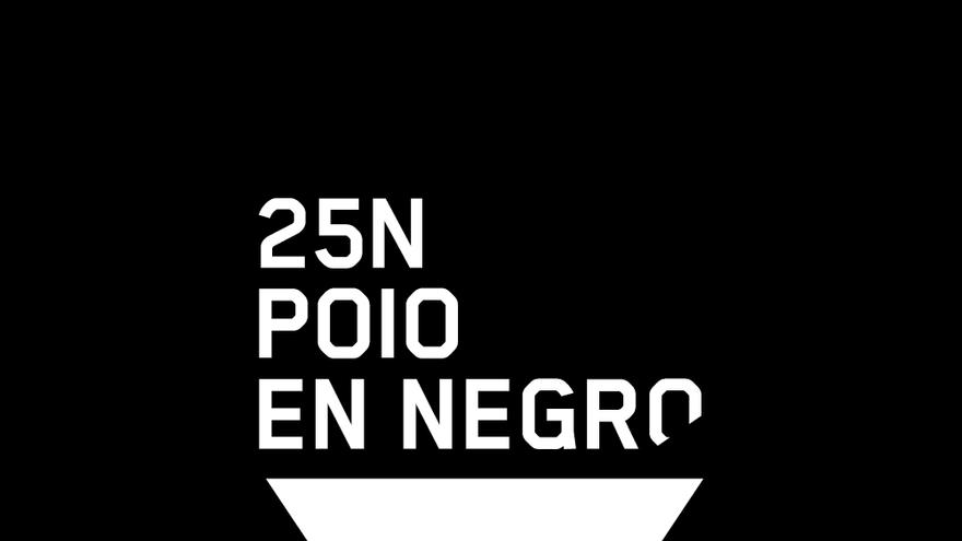 25N Poio en Negro - Día Internacional pola eliminación da violencia sobre as mulleres