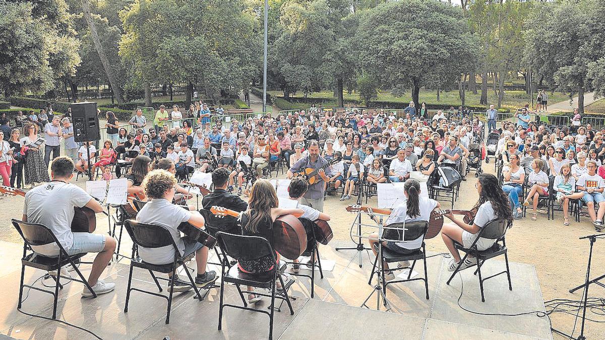 L'Escola organitza diverses actuacions durant l'any