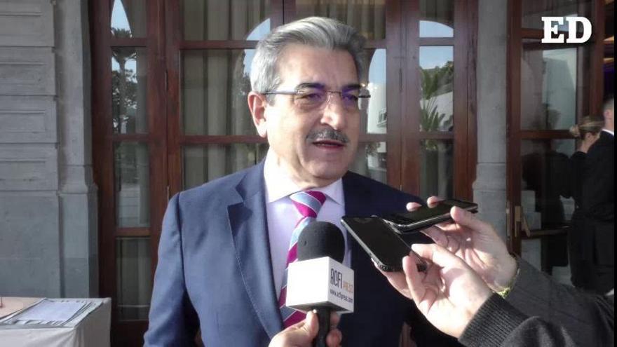 Román Rodríguez rechaza que la tasa al queroseno se aplique en Canarias