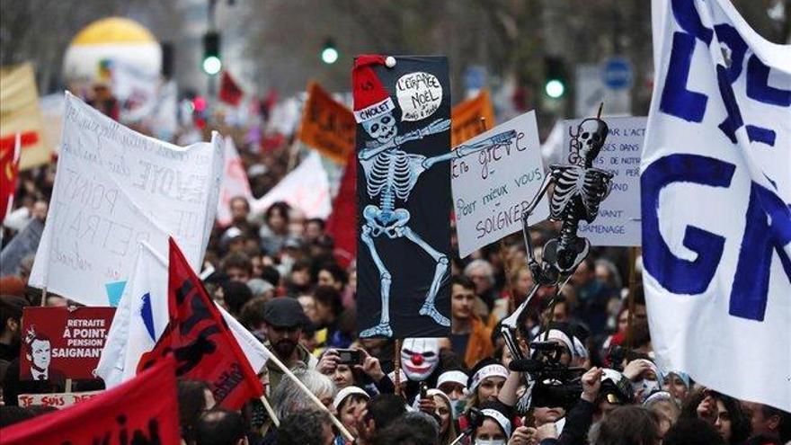 El conflicto por las pensiones se enquista en Francia