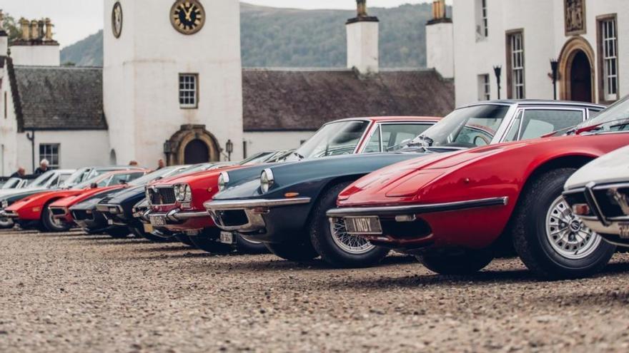 El Maserati International Rally 2019 reúne a 120 vehículos en Escocia