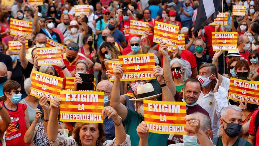 Un independentismo dividido llama a la unidad y a la movilización