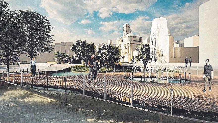 Un río para la Plaza del Ayuntamiento