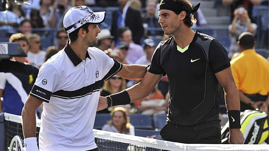 Último escollo para Nadal y Djokovic antes de la final