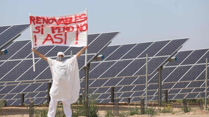 Performance para no instalar masivamente plantas solares en el Campo de Cartagena
